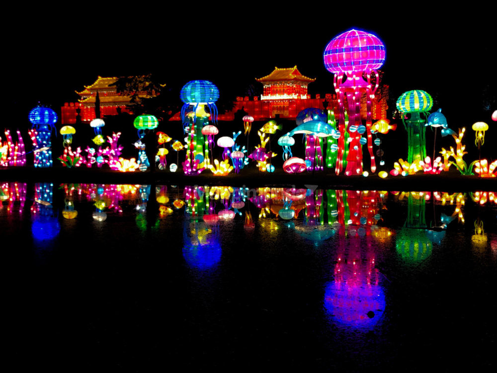 magia delle luci di Natale a Londra