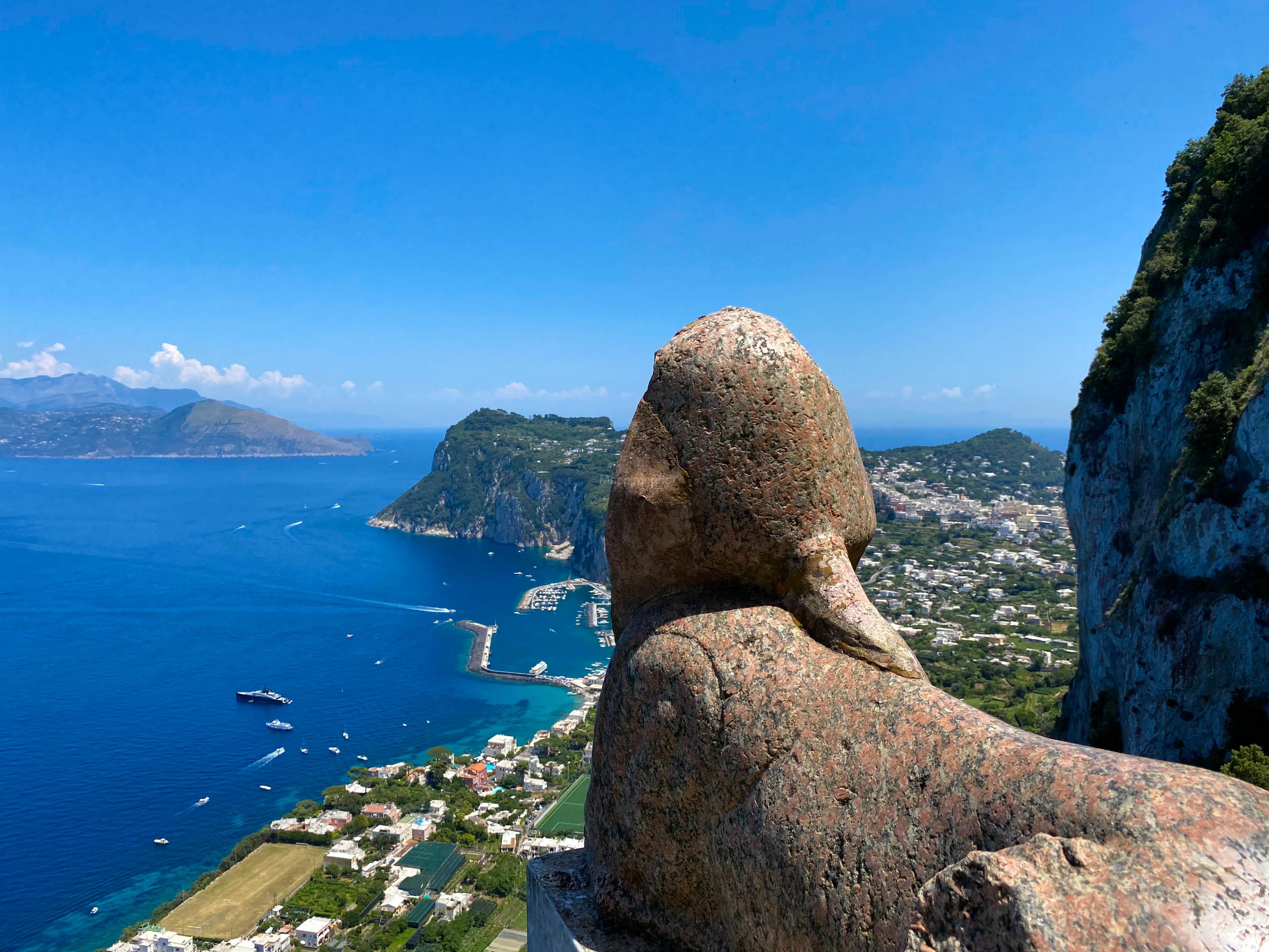 Villa San Michele - Capri - La Sfinge