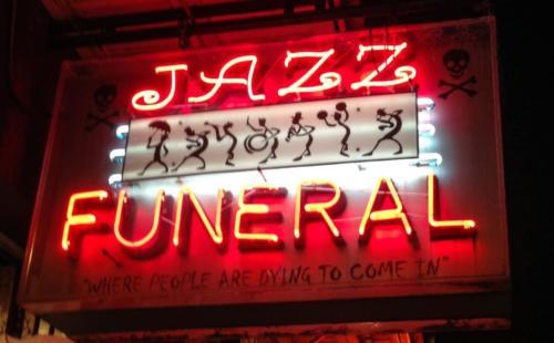 Jazz Funeral Bourbon St