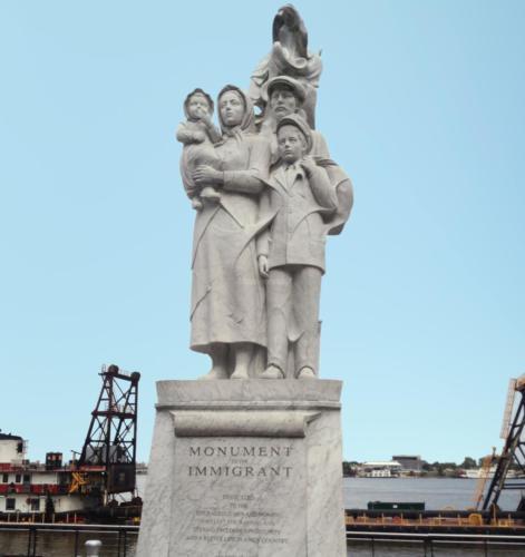 New Orleans Monumento Immigranti