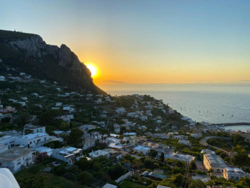 Tramonto Capri